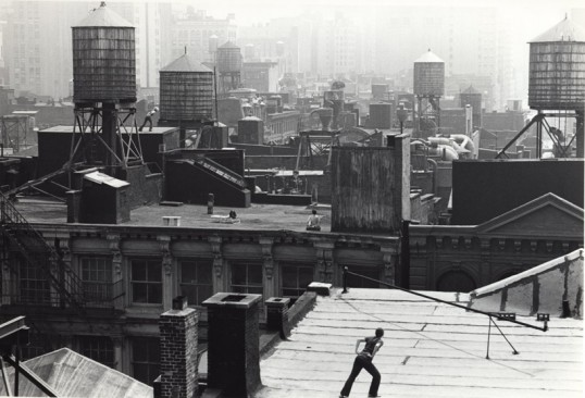 Babette Mangolte, photograph for Trisha Brown,