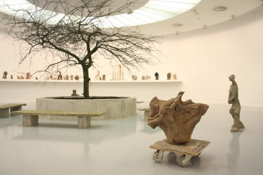 Goshka Macuga, When Was Modernism?, 2008, mixed media, dimensions variable. Installation view at MuHKA, Antwerp