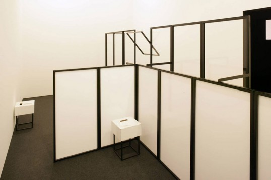 Installation view, 'A Theatre Without Theatre', MACBA, Barcelona, 2007. Photograph: © Tony Coll. Courtesy MACBA
