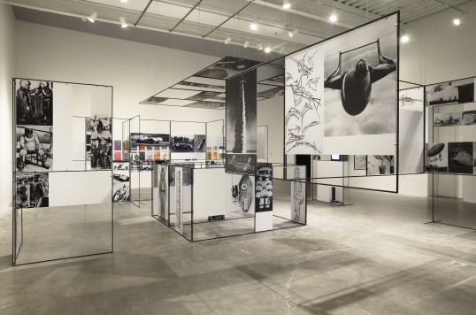 Richard Hamilton, Man, Machine and Motion, 1955/2012, exhibition reconstruction. Installation view, New Museum, New York, 2012. Courtesy New Museum