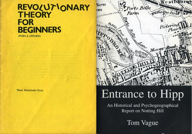Left: Printed by Islington Community Press (1976). Right: Printed by Calverts (1997)