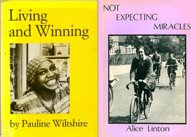 Living and Winning (1985), printed by Blackrose Press, and Not Expecting Miracles (1982), printed by Lithosphere