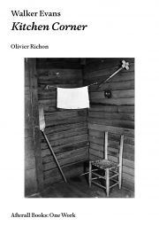 Cover image, Walker Evans: Kitchen Corner by Olivier Richon