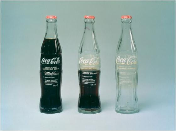 Into Ideological Circuits Coca Cola Project 1970 Bottles Transfer Text On Glass Photograph Wilton Montenegro Courtesy The Artist
